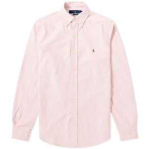 NWT Polo Ralph Lauren Pink Button Down Shirt